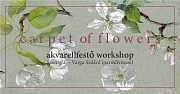 Carpet of Flowers -Akvarellfestő workshop